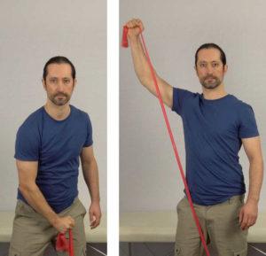 rotator cuff exercises - sword draws